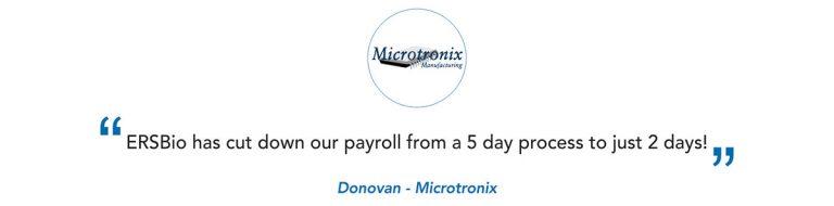 Microtronix Client Testimonial