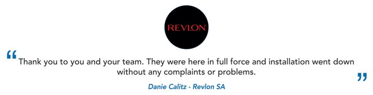 Revlon SA Client Testimonial