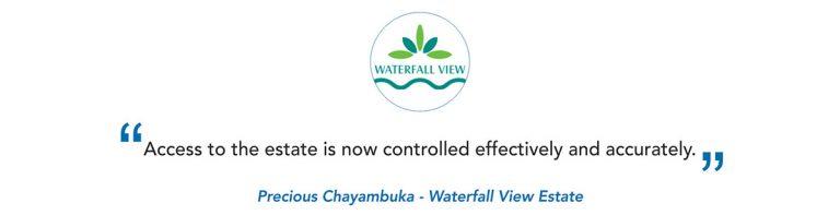 Waterfall View Estate Client Testimonial