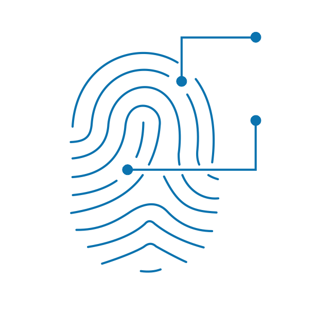 Fingerprint technology logo