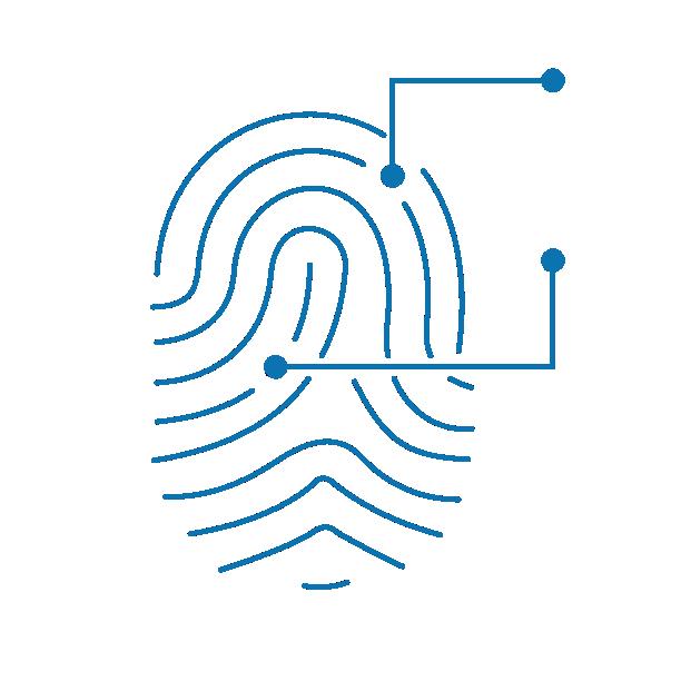 Fingerprint technology logo
