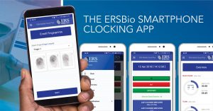 ERSBio's Smartphone Clocking App – New Functionality